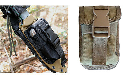 ESEE 5 and ESEE 6 Accessory Pouch, Black (52-POUCH-B) or Khaki (52-POUCH-K)