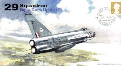 AV600 29 Squadron EE / BAC Lightning F3 XS452 RAF unsigned cover