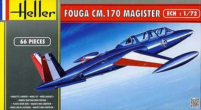 HELLER fouga Máster cm 170 Patrulla de France Royal Air Force