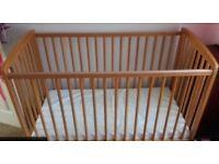 Baby crib/ cot