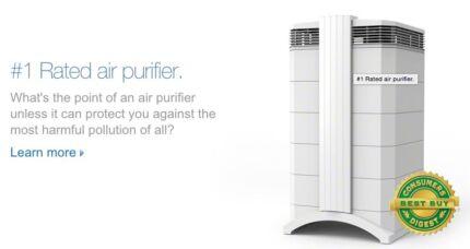 Best Home Air Filter - 2 x IQAir HEALTHPRO 250 - Hyper HEPA Woolooware Sutherland Area Preview