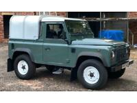 NOW SOLD! Land Rover 90 Defender Truck Cab 2.4TDi 2007 2 Owners FSH Very Clean!