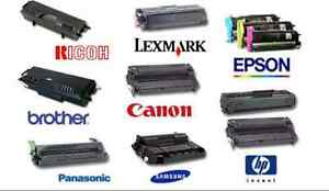 Laser toner cartridges Refill Services Compatible Ink HP Samsung