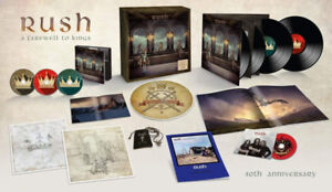 Brand New Rush A Farewell To Kings 40th Anniversary Super Deluxe