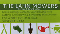 Grass Cutting, Snow Removal and Property Maintenance Services
