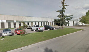 Industrial bay for Lease FENCED YARD