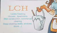 Ladies Cleaning Home / Cleaning services.