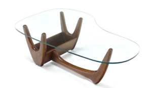 Mid Century Modern walnut coffee table Adrian Pearsall