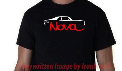 1968 1969 1970 1971 1972 Chevy NOVA T-Shirt SS Classic Muscle Car 68 69 70 71 72 - 1970 Mens Clothes