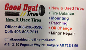 Good Deal tire-NEW AND USED TIRES! WINTER AND ALL SEASON