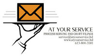 Need help Serving Court Papers, Call Us!