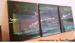 Painting / Peinture ''Dusk Shadows''