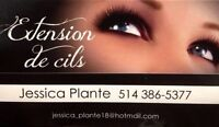 Extension de cils promo !!!