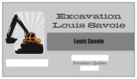 Ecavation 80$/h - Estimation gratuite