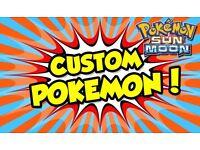 Any Pokemon or Item in Pokemon Sun or Moon
