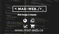 Web Design, Wordpress, E-Commerce, Seo, SMM and more!【MAD-Web】