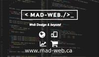 Web Design Wordpress E-Commerce Seo SMM and more!【MAD-Web】