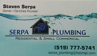 For Any Plumbing Needs Call Licensed Plumber @ 519-777-5741