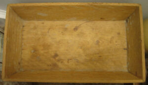 New Low Price! Vintage Solid Wood Dough Box