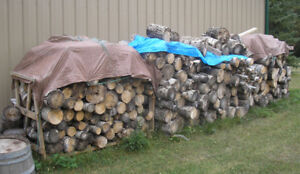 large amount of firewood for sale