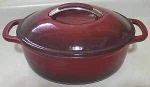 KitchenAid Enameled Cast Iron Covered Round Dutch Oven 3.5 qt
