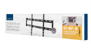 """Insignia TV Wall Mount (for 47""""-80"""" TVs)--New in Box"""