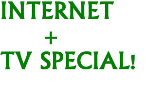 Internet + TV service (No contracts/Credit checks)