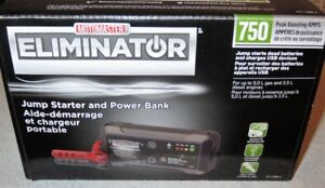 MotoMaster Eliminator 750A LithiumIon BatteryBoosterStarter NEW