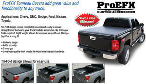 Soft Tri-Fold Tonneau Covers In Stock Starts $339.00 NEW NEW NEW London Ontario image 1
