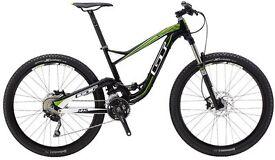2014 GT Sensor Elite Trail Full Suspension Mountain Bike