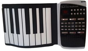 Giovanni's Roll Out Keyboard Piano Deluxe Kit - Black