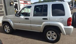 2003 Jeep Liberty Limited SUV, Crossover 2 YRS WAR LOW KM Cambridge Kitchener Area image 8