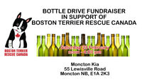 Bottle Drive/Bake Sale to Support Boston Terrier Rescue Canada
