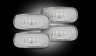 03-09 DODGE RAM 3500 RECON DUALLY FENDER LIGHTS CLEAR 264131CL