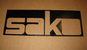 Large Steel SAKO Sign - Custom Made for Gun Store - 71x25 см