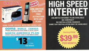 ooma home phone plan, vonage phone, unlimited internet