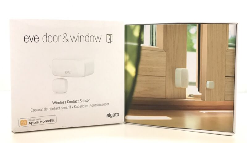 Elgato Eve Door & Window Wireless Contact Sensor White 10027802