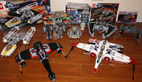Lego Star Wars Collection 75018, 9495, 9500, 8088, 7130, 8016