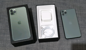Apple iPhone 11 pro max 64gb with warranty
