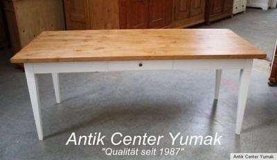 Jugendstil Tisch Esstisch Tafel Küchen Gesindetisch Antik Fichte Eiche Landhaus
