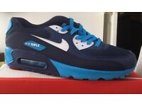 Men's boys trainers new AirMax trainers boxed 9 and 10