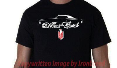 1970 1971 1972 Chevy Monte Carlo Car SILHOUETTE T-Shirt Logo Emblem 70 71 72 - 1970 Mens Clothes