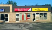 Fresh New Facade! *1200sqft For Lease Leamington with