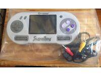 Supaboy Handheld plays Super Nintendo \Snes\NTSC games