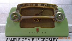"""Crosley Dashboard Radios"""