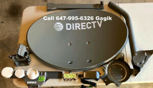 Directv*Dish Network*Bell TV*Shaw Direct*HD OTA Antenna*CAT 6