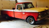 1966 FORD F100-REDUCED PRICE FROM 3800. TO 3000.