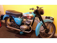 BSA CLASSIC RUNNING PROJECT £1499 O.V.N.O