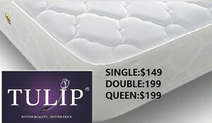 █♣█ECONO~TIGHTTOP MATTRESS IN 3 SIZES~TULIP BRAND NEW!
