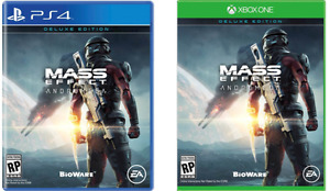Mass Effect: Andromeda - 2x PS4 / 2x Xbox One - 70$